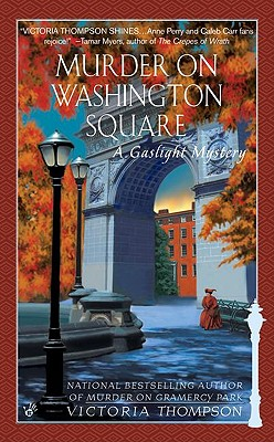 Murder on Washington Square By Thompson, Victoria