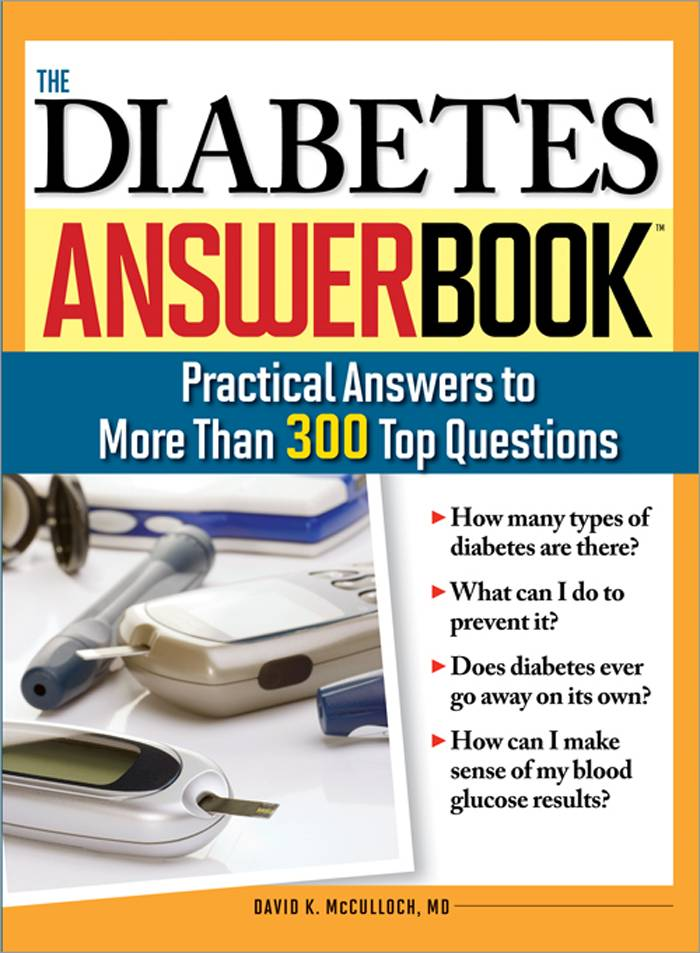 The Diabetes Answer Book By Mcculloch, David K.